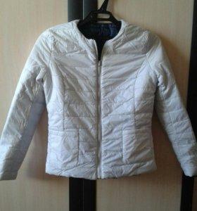 Новая демисезонная двухсторонняя  куртка