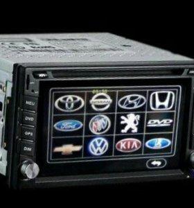 Магнитола DVD,USB в авто