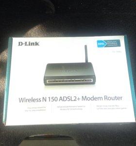 D-link wireless N 150 adsl2+ modem router
