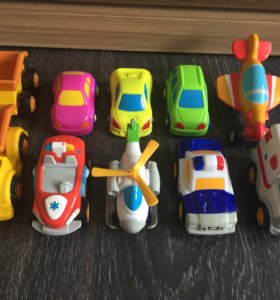 Машинки пакетом
