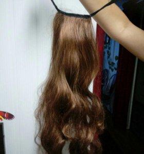 Хвост волосы.