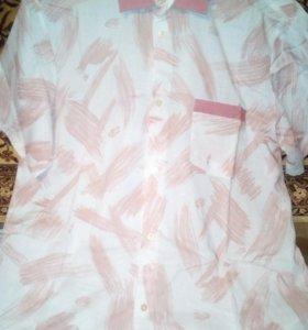 Рубашка 100%хлопок.Новая.