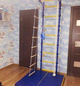 Игровой комплекс для детей синий