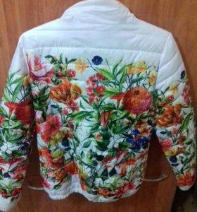 Куртка осень-зима в хорошем состоянии