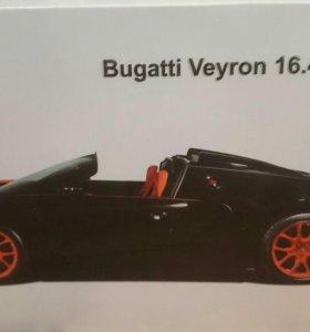 Модель bugatti veyron 16.4