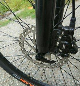 Велосипед с гидравликой колеса 27,5