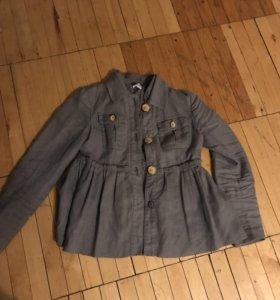 Легкое укорочённое пальто ZARA