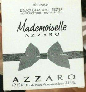 Тестер.Mademoiselle Azzaro.