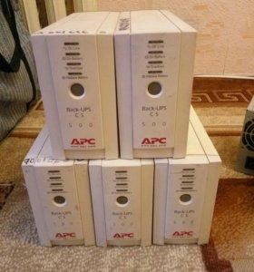 Бесперебойники APC Back-UPS 500