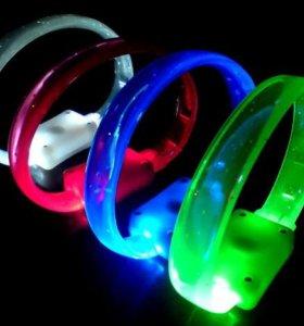 Светодиодный мигающий браслет