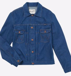 NEW Джинсовая куртка Wrangler 11MJ 'Pleated Jacket