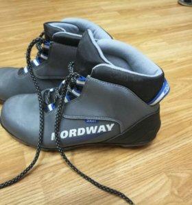 Лыжные ботинки NORDWAY 40р