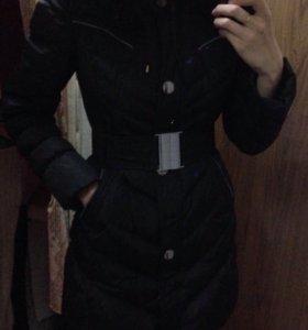 Пальто женское тёплое в зиму р42-44