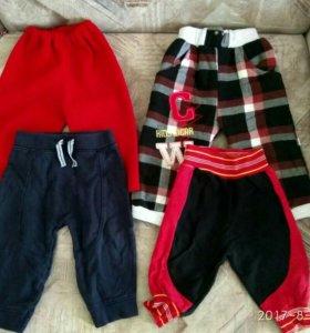 Джинсы и спортивные штаны
