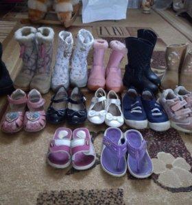 Обувь для девочки размеры от 28 до 32