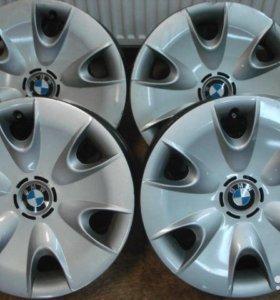 Штампованные диски на BMW