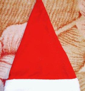 Новогодняя нарядная шапка