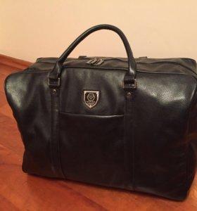 Новая кожаная сумка Philipp Plein