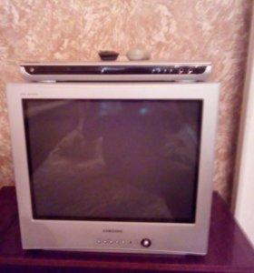 Телевизор Samsung Plano b DVD плеер Samsung