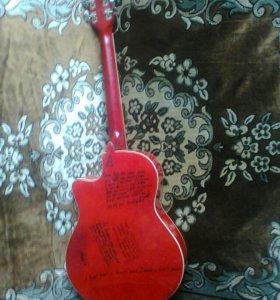 Гитара эстрадная шестиструнная