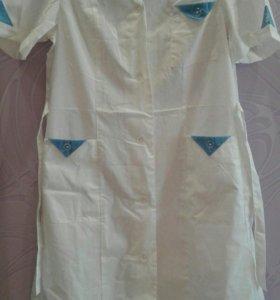 Женские медицинские халаты новые