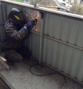 Сварочные работы на балконах и лоджиях