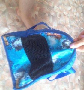 Лежанка и сумка-переноска для домашних питомцев