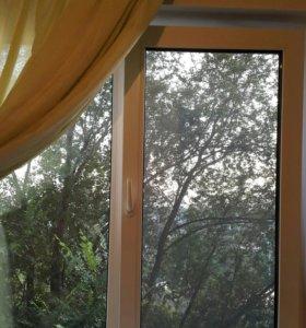 Остекление балконов. Установка пластиковых окон.