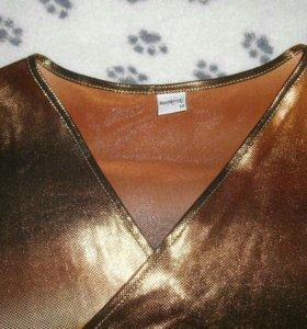 Блуза праздничная(золото)