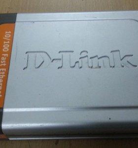 Коммутатор D-link DES-1008D