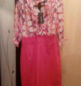 Платье классическое новое