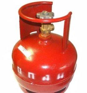 Газовый баллон 5 литров (пропан)
