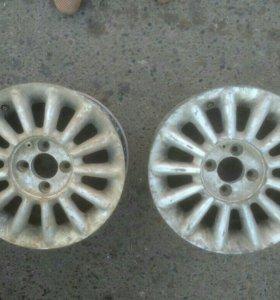 Литые диски на VW
