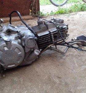Двигатель питстер про 160