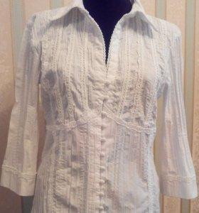 Рубашка белая блузка
