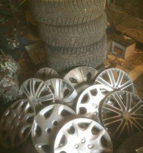 Колпаки на колеса тойота ваз 14