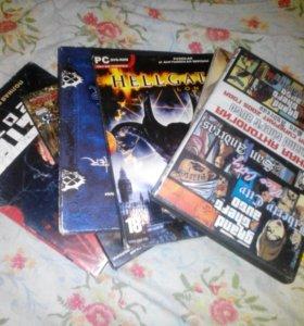 Cd,dvd с музыкой и играми
