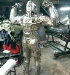 Робот из железа