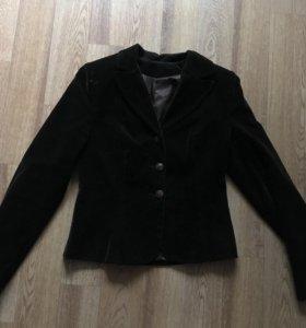 Пиджак коричневый
