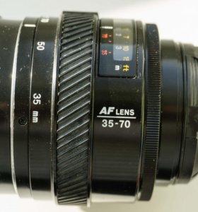 Minolta AF zoom 35-70/4 (macro)