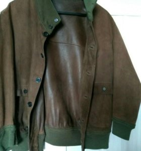 Куртка замша/кожа