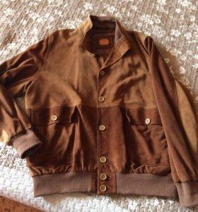 Куртка демисезонная замшевая