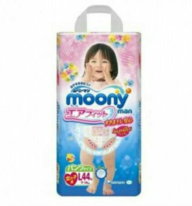 Подгузники трусики moony L
