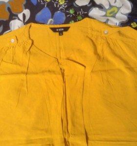 Блузка х/б O'stin + ремешок в подарок