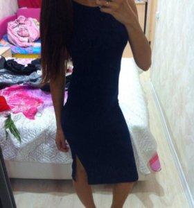 Новое платье 42р синие