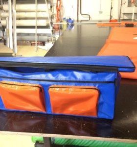 Сумка-сидушка для лодки ПВХ с карманами