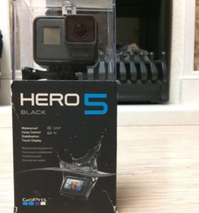 Видеокамера GoPro HERO 5 BLACK EDITION