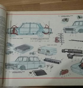 Книга атлас автомобили жигули