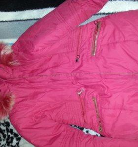 Куртка тёплая,зимняя,не тяжелая