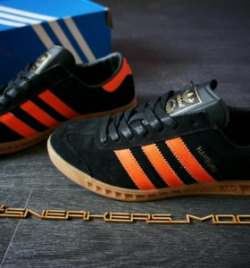 Adidas Hamburg black/orange